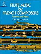 Flute Music by French Composers; Book Only; Louis Moyse. - 9780793525768