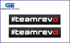 2 Stück TEAM REVO TECHNIK  - Auto Tuning Aufkleber - Car Sticker - B 30cm !