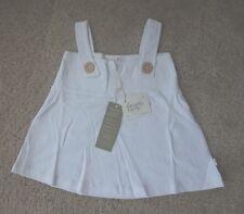 Toddler Baby Girls White Dress Tunic Sleeveless Kids Clothes 18-24M