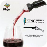 Kingfisher Aerator Pourer Red Wine Aeration Spout Bottle Pouring Taste Enhancer