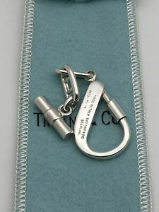 Tiffany & Co. Italy Sterling Silver 925 Key Chain RARE!