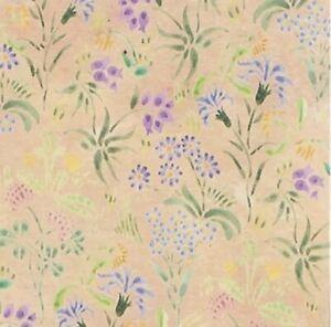 1/12th Scale Dolls House Wallpaper Meadow Flowers.