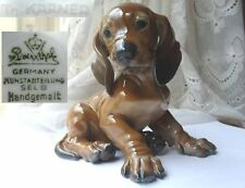Porzellan Figur, Hund/ Dackel/ Welpe, Rosenthal, Th, Kärner F568