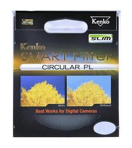 KENKO SMART BY TOKINA 49MM CIRCULAR POLARISING FILTER CPL CIRC-POL PLC
