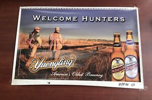 Yuengling Beer Welcome Hunters  Advertising Print / Poster