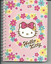 Sanrio Hello Kitty Spiral Large Notebook Flowers