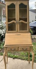 Ethan Allen Country French Secretary Bisque