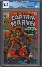 Captain Marvel #18 CGC 9.4 Carol Danvers Gains Super Powers
