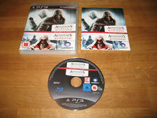 PS3 game - Assassins Creed double pack Revelations + Brotherhood (complete PAL)