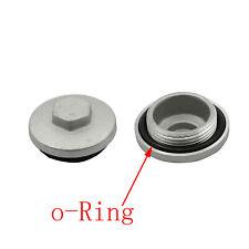 2 Pack Honda Engine Valve Tappet Adjustment Cover Cap O-Ring 12361-300-000