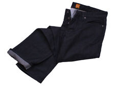 Hugo Boss Jeans W38 L36 Orange25 schwarz Regular Fit Baumwolle Denim orang Label