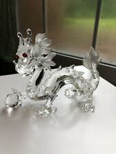 """Swarovski Crystal THE DRAGON, ANNUAL EDITION 1997, """"FABULOUS CREATURES"""" WITH BOX"""