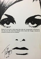 TWIGGY Please Get My Name Right JAPAN PHOTO BOOK 2004 Model Swinging London