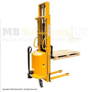 1500kg Semi Electric Lifter Mover Stacker  2.5 m llift VAT Inc