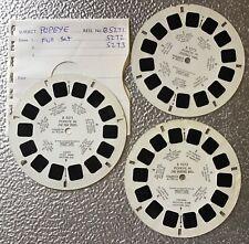 Popeye,Vintage 60s,Viewmaster 3 x Reels,Full Set Of Three Reels. 00004000 Rare
