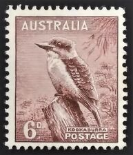 * Cs&C * 1937 Australia 6p Mint Nh Stamp - Id:7160