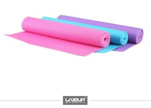 4mm Yoga Mat Extra Grip PVC Gym Exercise Pilates Workout Eco-Friendly Waterproof