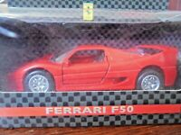 SHELL COLLEZIONE FERRARI - FERRARI F50 - SCALE 1:39 NEW IN BOX