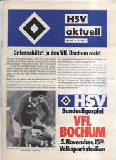 BL 77/78 Hamburger SV - VfL Bochum