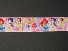 """princess baby grosgrain ribbon 7/8"""" per 1 m hair scrapbooking card making"""