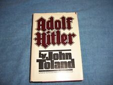 ADOLF HITLER by John Toland/1st Ed/HCDJ/Biography/Political