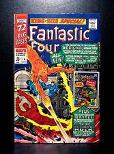 COMICS: Marvel: Fantastic Four Annual #4 (1966), 1st SA Human Torch app - RARE
