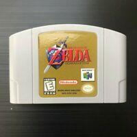 Legend of Zelda: Ocarina of Time (Nintendo 64, 1998) N64 - Tested, Great Gift!