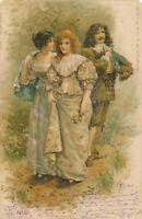 A l'Epoque de la Reine Elizabeth 1902 Postcard Elisabeth – udb