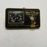 Disney WDW The Man and His Dreams Walt Disney & Mickey Mouse Pin