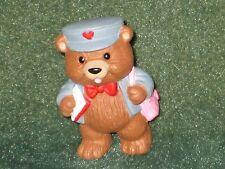 Hallmark Merry Miniature 1994 Bear Letter Carrier - Valentine - New