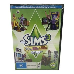 Brand New The Sims 3: 70's, 80's, & 90's Stuff Expansion Pack - Windows / Mac