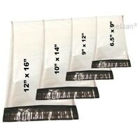 Strong White Colored Mailing Bags Plastic Postage Bag Poly Mail Postal Self Seal