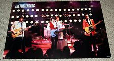 THE PRETENDERS Chrissie Hynde Group In Concert Learning To Crawl Poster 1984