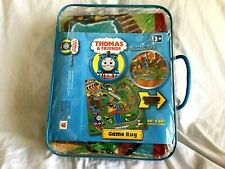 "THOMAS & FRIENDS Game Rug In Carrying Case 40"" X 40"" Super Colorful *NEW SEALED*"