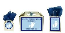 Personalised Father's Day Daddy To Be Gift Bag Box Present Pregnancy From Bump