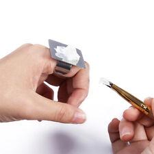 Nail Art Makeup Palette Set Finger Plate Paint Pallete Mini Ring Tool Kit Mix
