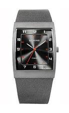 Analoge rechteckige Armbanduhren mit Erwachsene für Herren