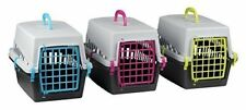 Pet Cat Kitten Dog Rabbit Carrier Kennel Foldable Travel Transport Cage Vet