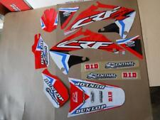 FLU DESIGNS PTS4 TEAM HONDA GRAPHICS CRF450 CRF450R 2002 2003 2004