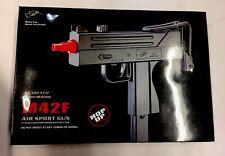 MAC 10 UZI Airsoft Gun + Magazine & Folding Metal Stock - M42F pistol/rifle