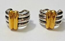 Vintage Premier Designs Genie Pierced or Clip Earrings