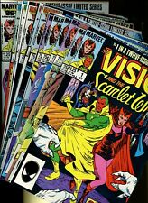 Vision and the Scarlet Witch 1,2,3,4,5,6,7,8,9,10,11,12 ^12 Books^ Marvel Comics
