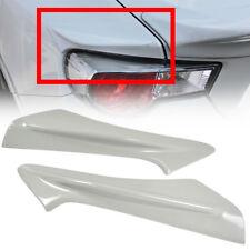 White Trunk Side Spoiler For TOYOTA GT86 For SUBARU BRZ FR-S Rear Paint #K1X