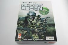 PC CAJA GRANDE CARTON TOM CLANCY'S GHOST RECON COMPLETO PAL ESPAÑA