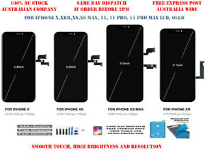 IPHONE X XS XR 11 PRO MAX XS MAX OLED LCD SCREEN TOUCH DIGITIZER REPLACEMENT