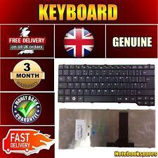 """For 15.4"""" FUJITSU ESPRIMO MOBILE V6535 MS2239 Black Notebook Keyboard UK QWERTY"""