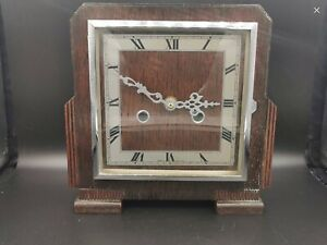 Art Deco Enfield Mantle Clock Quartz Movement