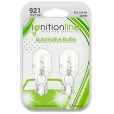 2 x 921 12V 21W Capless Stop High Break Lights Reversing Wedge Car Bulbs
