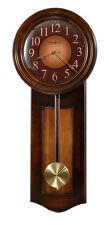 HOWARD MILLER RUSTIC CHERRY FINISH,PENDULUM WALL CLOCK, ARABIC NUMBERS 625-385