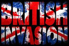BRITISH INVASION Karaoke 3 Disc CDG Set 50 Songs BEATLES The Who DAVE CLARK FIVE